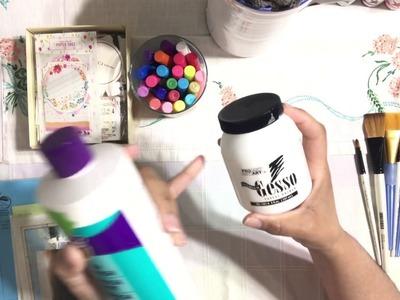 Art Journal Mixed Media Supplies - For Beginners
