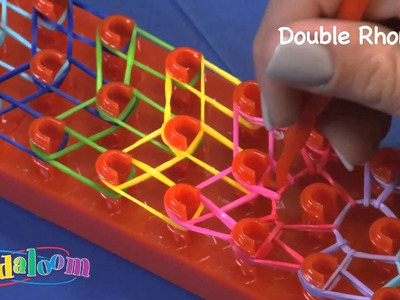 Bandaloom, How to make a Double Rhombus