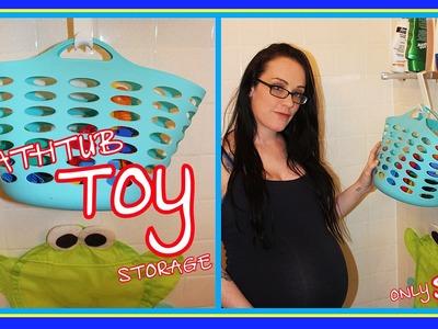 Bath Toy Storage Ideas - Easy & Inexpensive