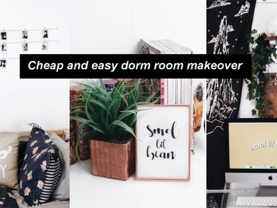 Cheap and Easy Back to school Dorm Room Decor!