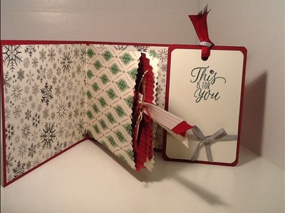 Christmas Card & Gift Card Holder Part 2
