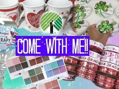 Come with Me to Dollar Tree - Makeup, Baskets, Baby stuff and More!