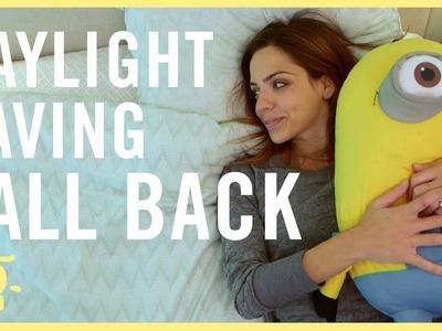 DAYLIGHT SAVINGS - It's Time to FALL BACK