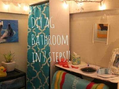 DIY AG Bathroom in 7 steps!!