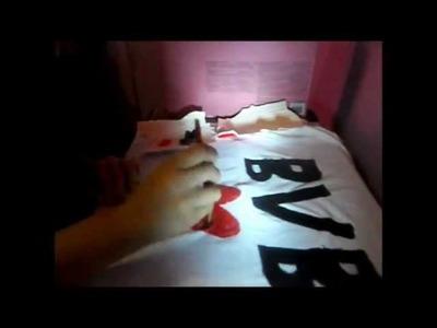 DIY Black Veil Bride Shirt