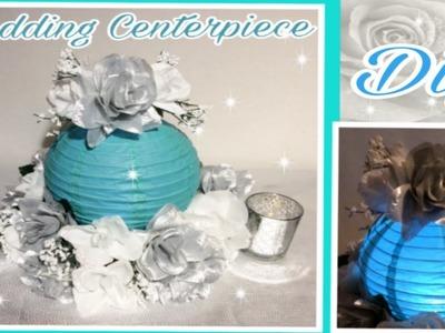 DIY LIghted Lantern Centerpiece. Dollar Tree  GLAM Floral Arrangement. SImply Easy #13