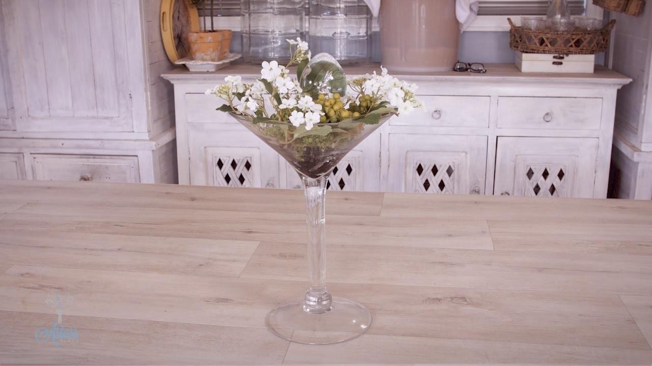 Easter-Themed Martini Glass Floristry Design Tutorial