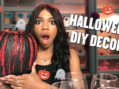 Easy Halloween DIY Decorations!!