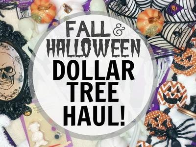 FALL & HALLOWEEN DOLLAR TREE HAUL! ♡ 2017 ♡ Fall & Halloween Decor