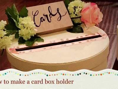 How to decorate an IKEA Box for your wedding?
