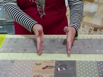 How to make a delicious quilt using rectangles - Quilting Tips & Techniques 099
