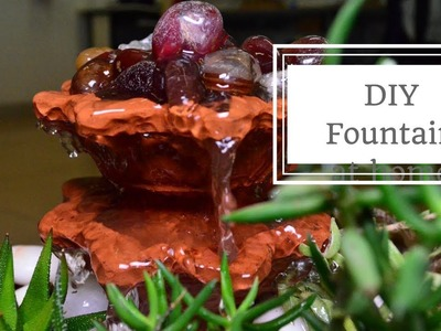 How to Make a Water fountain at Home w. Ugaoo. Garden Up