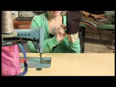 How to Make Reversible Homemade Purses : Attaching Fabric to a Homemade Purse