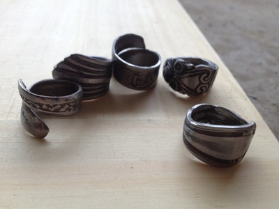 How To Make: Spoon Ring