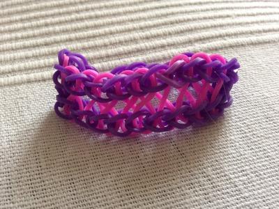 How to make the infinity bracelet on the rainbow loom