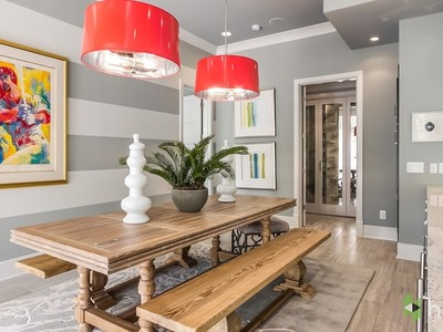 How to Paint Perfect Wall Stripes