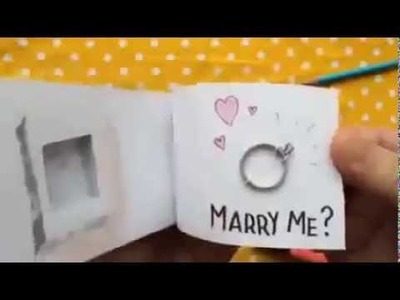 "How to say "" Will You Marry me?"" Creative idea from - www.E-Art-House.Com"
