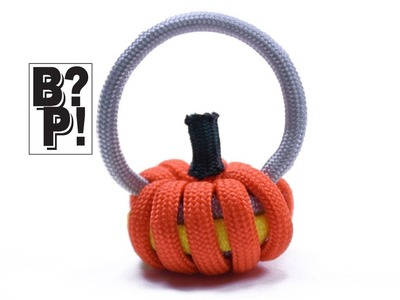 Make a Paracord Pumpkin or Jack o lantern for Halloween  - BoredParacord.com