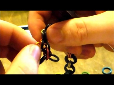 Making your Stretchy Chainmaille Bracelet!