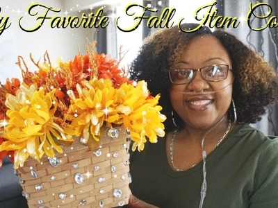 MY FAVORITE FALL ITEM COLLAB WITH THE GLAMOROUS PENNY PINCER ???? DOLLAR TREE DIY ???? FALL GLAM DECOR