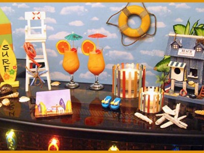 Ocean theme party themed decorating ideas
