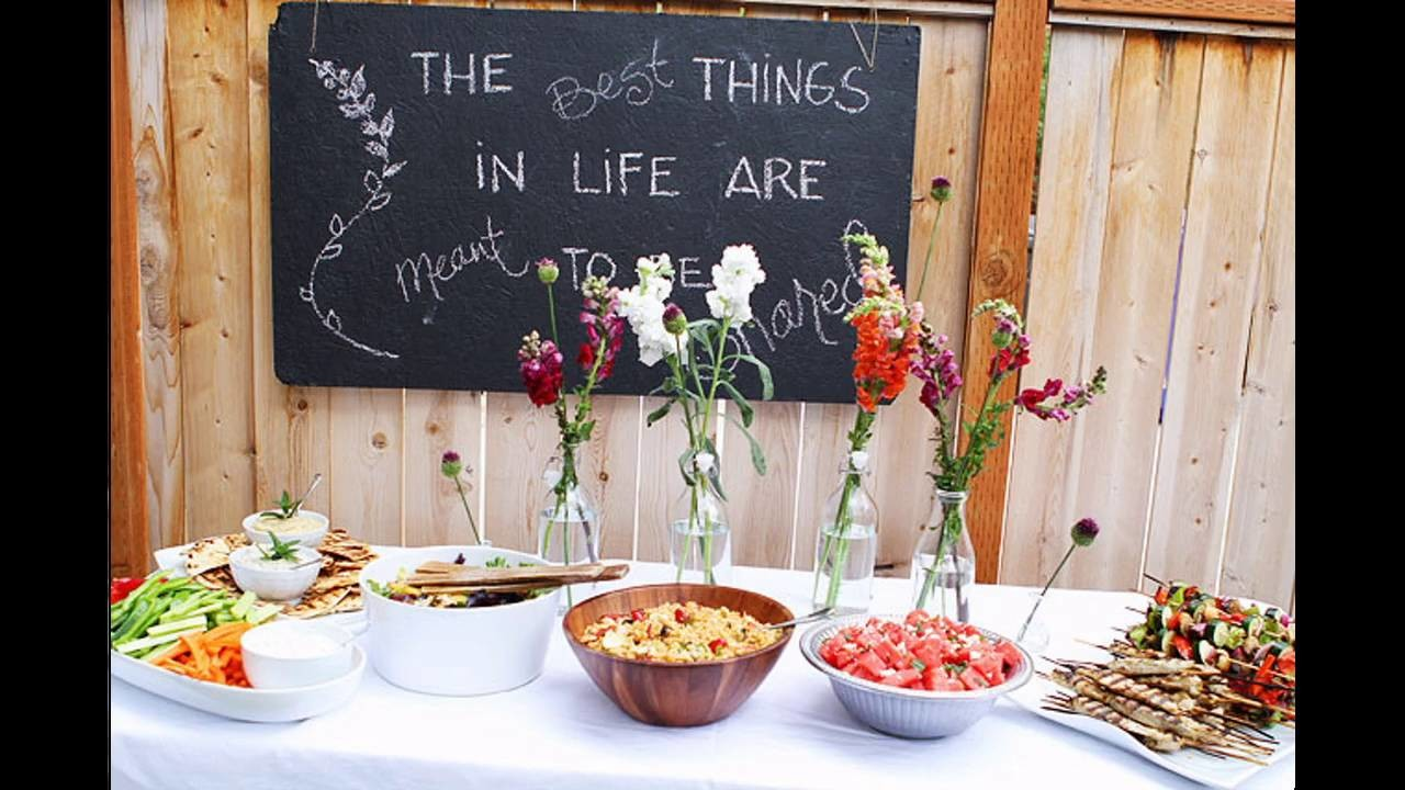 Outdoor Dinner Party Themed Decorating Ideas My Crafts