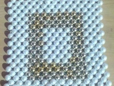 Pearl Beaded table mat # 16
