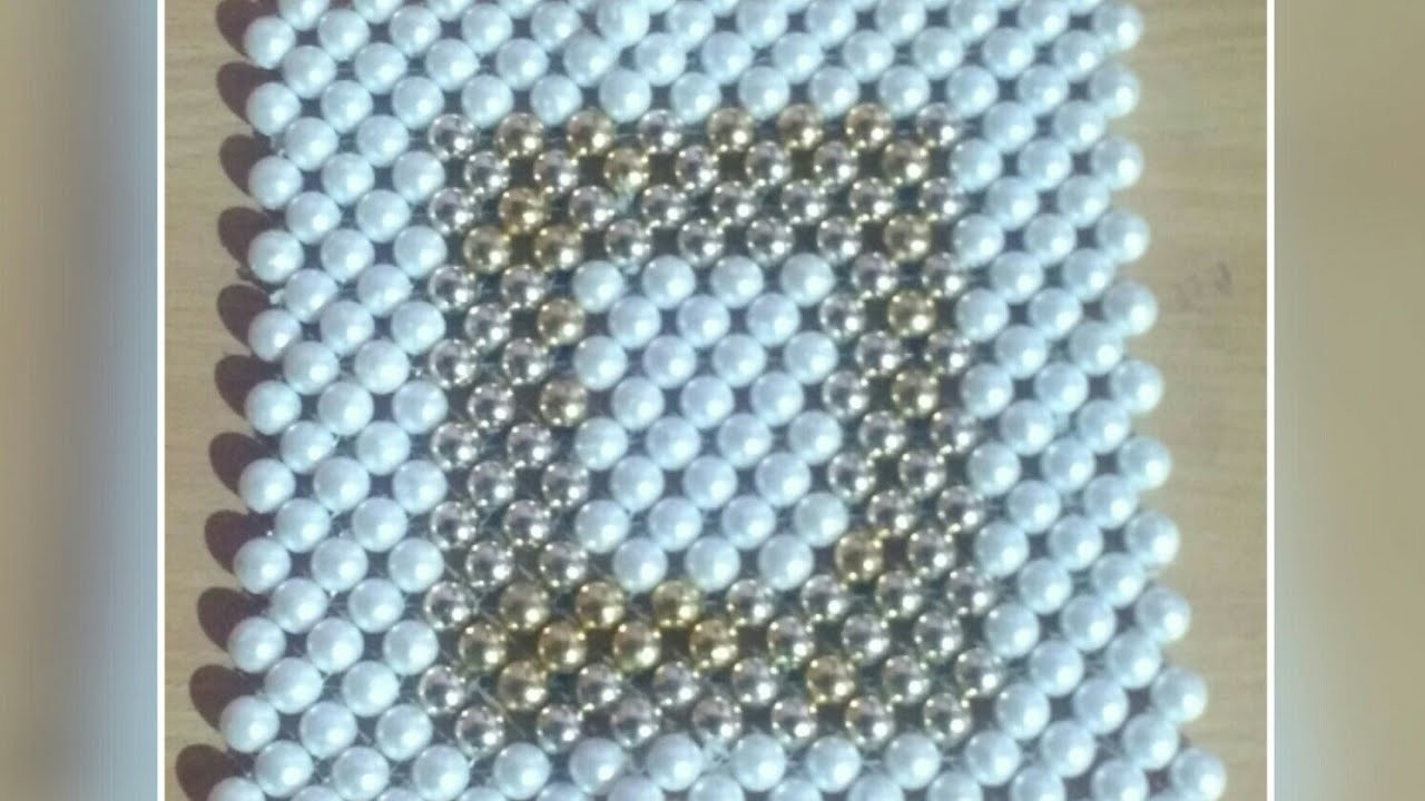 Pearl Beaded table mat # 16