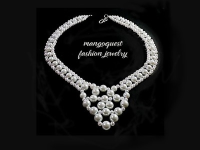 Pearl Necklace Tutorial Fashion Jewelry DIY