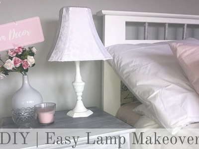 ROOM DECOR   Pretty French Country Lamp Makeover (Quick & Easy)