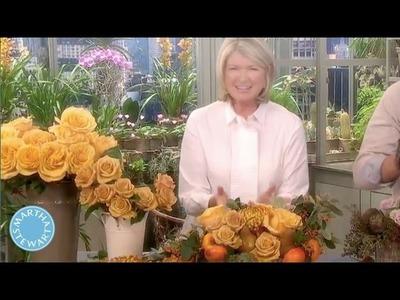 Rustic Floral Birch Box - Martha Stewart