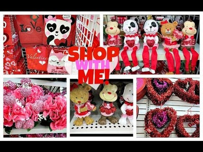 Shop With Me Dollar Tree  | New Valentine's Day Items