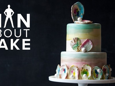 This Cake is Your OYSTER (Shucking Awesome Beach Wedding Cake)   SEASON 5 FINALE Man About Cake