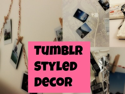 Tumblr Styled Decor   Things To Do With Your Polaroids and Other Things
