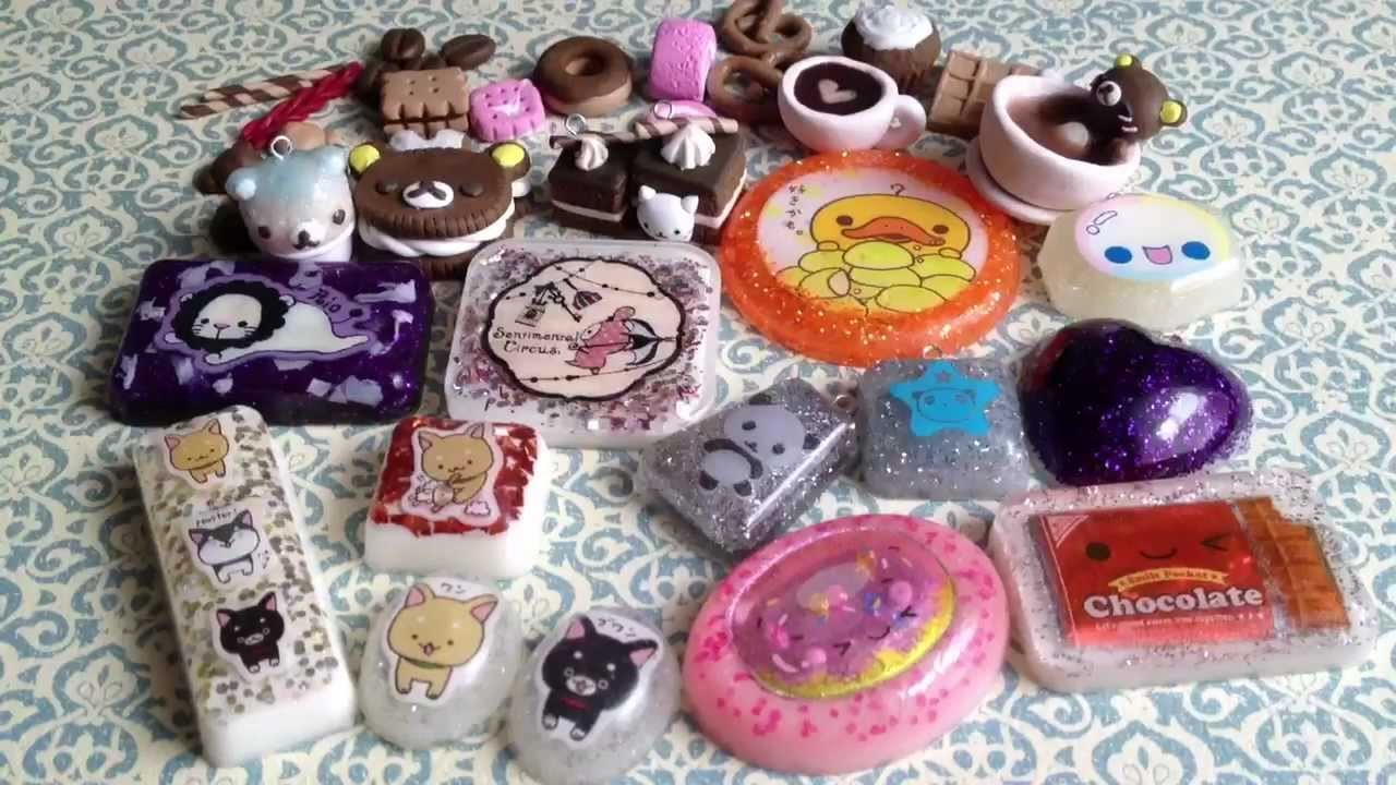 Update #7- Clay Charms, Deco Pieces, Resin