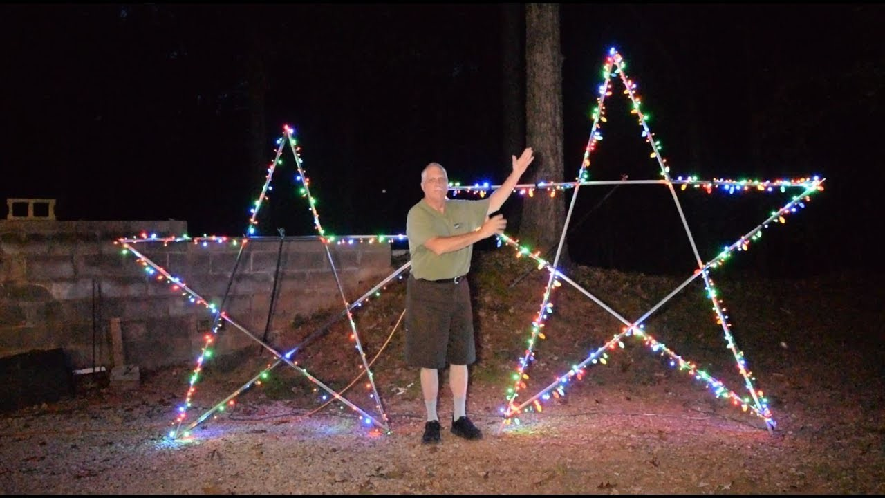 10 foot 5-point star for Christmas Light display