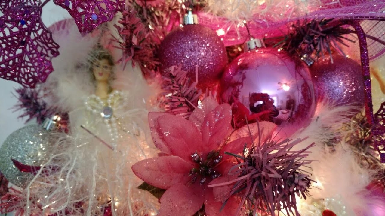 Christmas 2017- Think Pink Christmas Tree & Room Decor- Part 3 in series