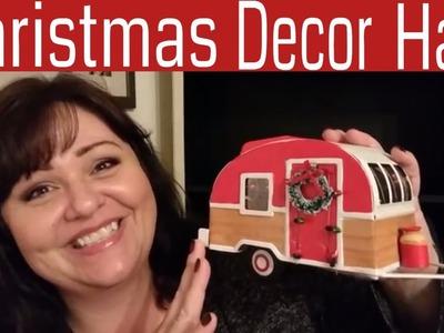 CHRISTMAS Decor Haul????TARGET, WALMART, & DOLLAR TREE ????!