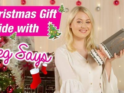 Christmas Gift Guide 2017 | Meg Says | Gifts For Girls