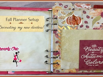 Decorate my Planner with me - Decorating my Planner for Fall