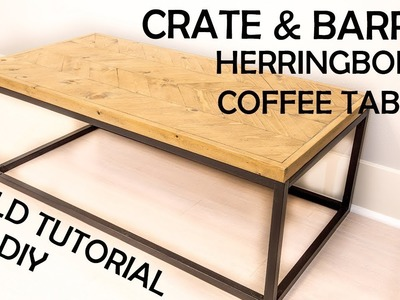 DIY Crate and Barrel Dixon Coffee Table
