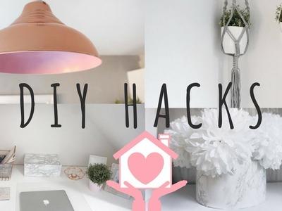 DIY HACKS | CHEAP & EASY | HOME DECOR | Lucy Jessica Carter