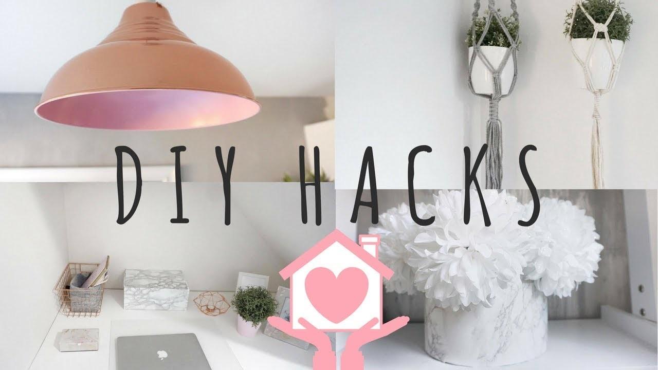 DIY HACKS   CHEAP & EASY   HOME DECOR   Lucy Jessica Carter