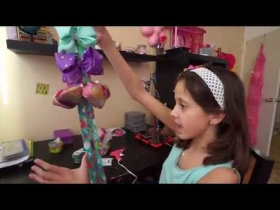 DIY JoJo Siwa Bow Holder. My First Giveaway! To Enter, Rules In The Description!