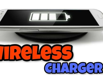 DIY Wireless charger || simple ||easy || BD135