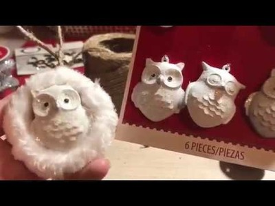 Dollar Tree Christmas Ornaments 12 Days of Christmas Day 4  Beautiful Rustic Ornaments inexpensive