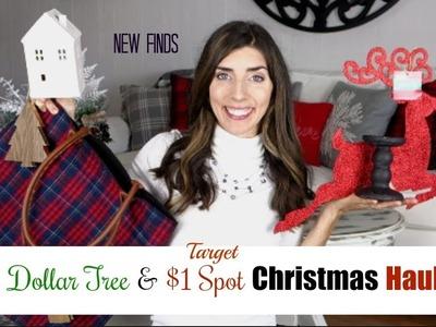 DOLLAR TREE & DOLLAR SPOT HAUL | CHRISTMAS DECOR | Momma From scratch