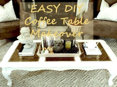 EASY DIY Coffee Table Makeover