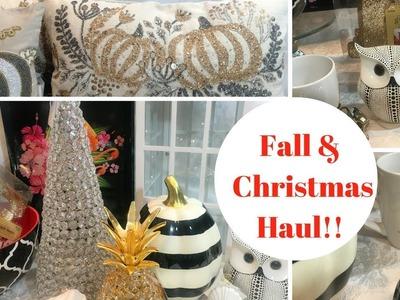 Fall & Christmas Haul!! Big Lots, TjMaxx, Marshalls, Ross, Hobby Lobby, Michaels, Dollar General!!