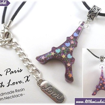 'From Paris With Love' Necklace